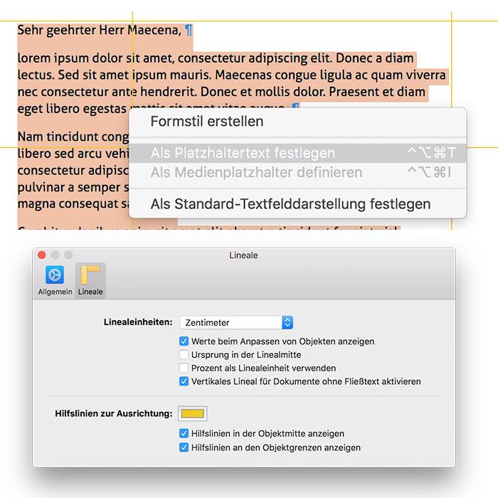 Mac Tipp Persönlichen Briefkopf Als Feste Pages Vorlage Sichern