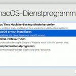 Macos Sierra Recovery Mode Neu Installieren