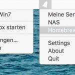 Menuleisten Apps
