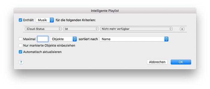 Playliste Apple Music