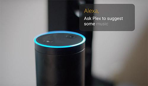Plex Alexa Steuerung
