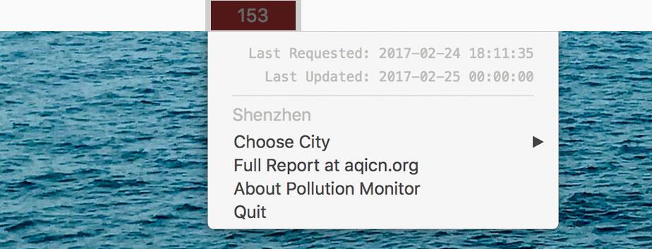Pollutionmonitor