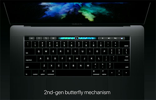 Second Generation Butterfly Keybord