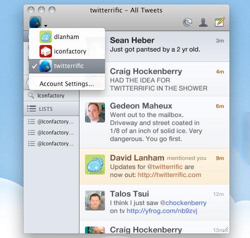 Twitterific Mac