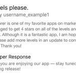 App Store Entwickler Antwort