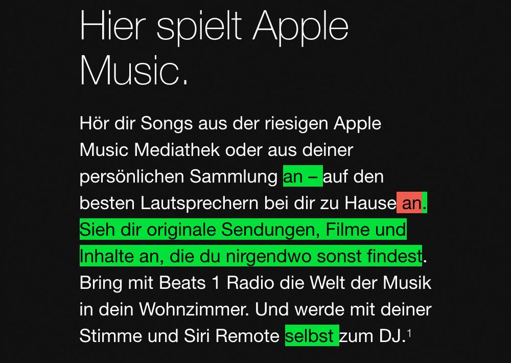 Apple Music Aenderungen