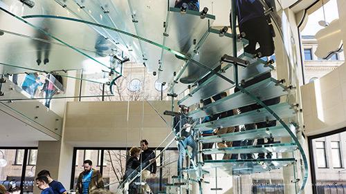 Apple Store Koeln Schildergasse Treppe