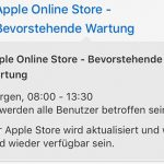 Apple Store Wartung
