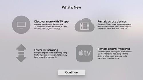 Apple Tv Tvos 103 Neuerungen