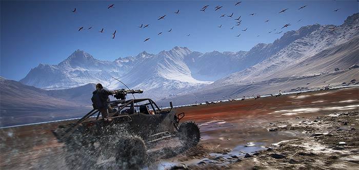 Ghost Recon Wildlands Vehicles