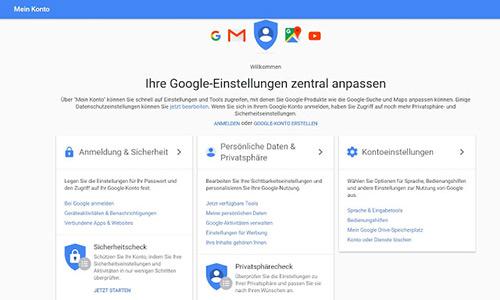 Google Meinkonto