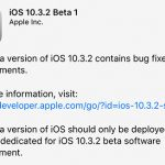 Ios 10 3 2 Beta 1