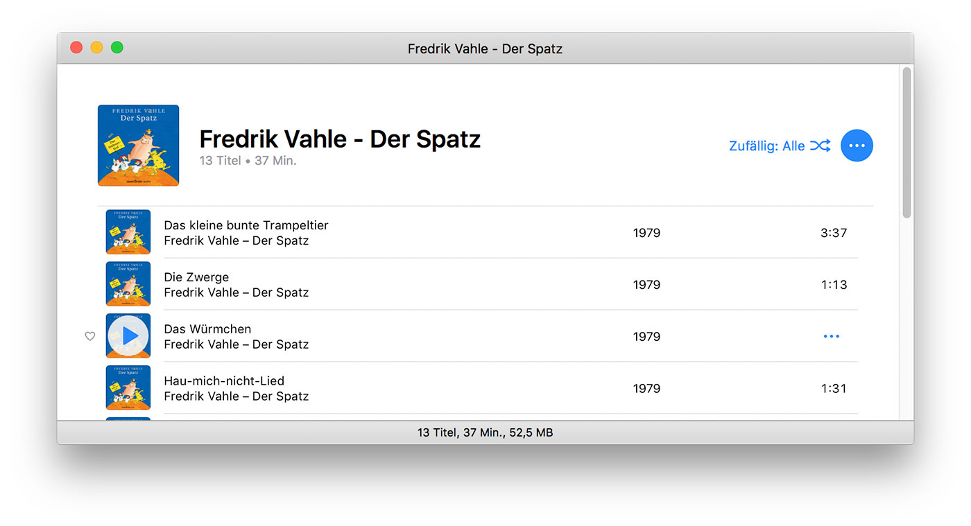 Itunes Playliste Fenster