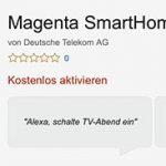 Magenta Smarthome Skill Alexa