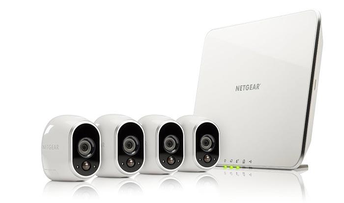 Netgear Arlo 4 Kameras