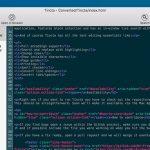 Tincta Feature Texteditor
