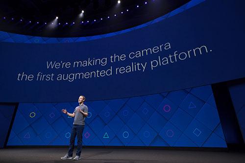 Facebook F8 2017 Zuckerberg