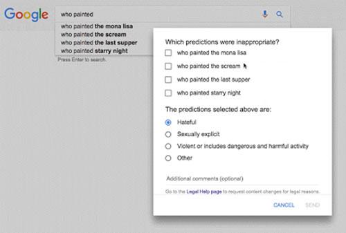 Google Unangemessene Inhalte Melden