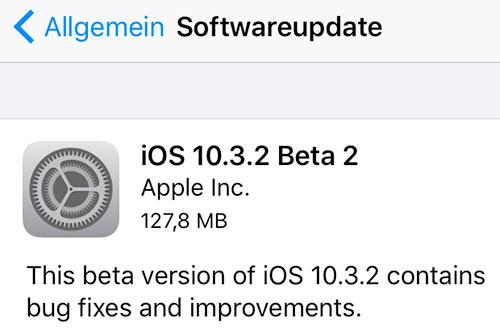 Downgrade unmöglich: iOS 10.2.1 & iOS 10.3 nicht mehr signiert