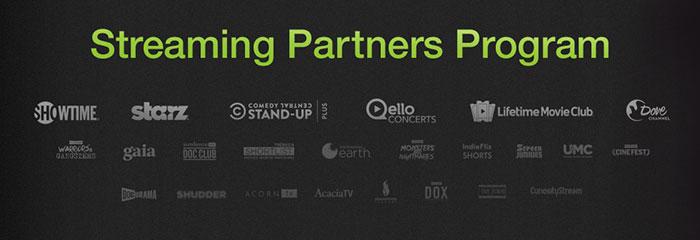 Amazon Streaming Partners Programm