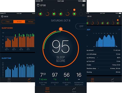 Beddit App