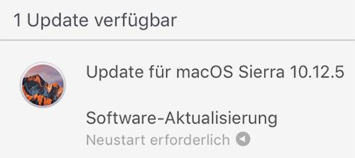 Macos Sierra Update