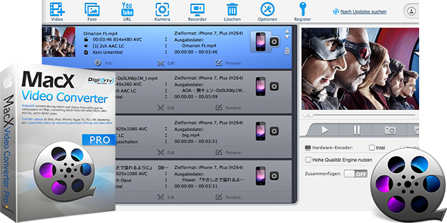 Macx Video Konverter