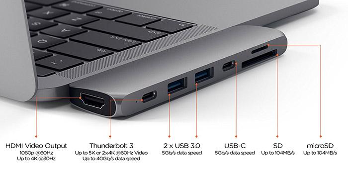 Satechi Pro Hub Macbook Pro