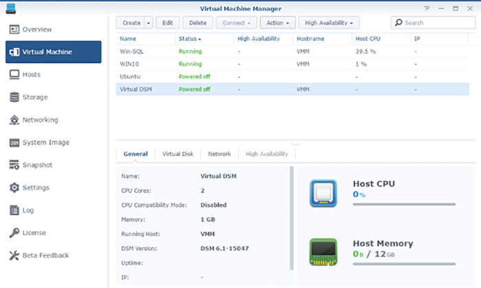 Synology Dsm Virtual Machine Manager