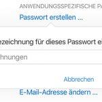 Anwendungsspezifisches Passwort Erstellen Mac