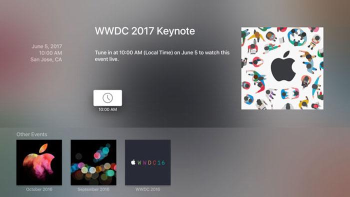 Apple Wwdc Keynote App Apple Tv