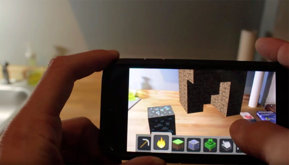 Arkit Minecraft