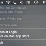 Ethernet Status Mac App