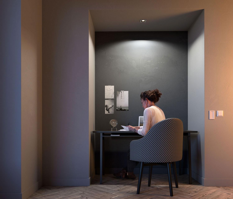 milliskin philips hue launcht smarte einbauspots. Black Bedroom Furniture Sets. Home Design Ideas