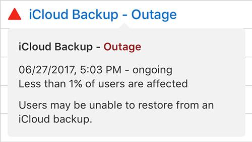 Icloud Backup Fehler