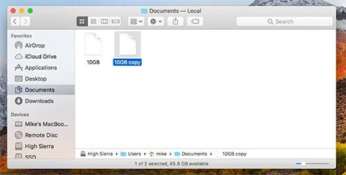Mac Datei Kopieren