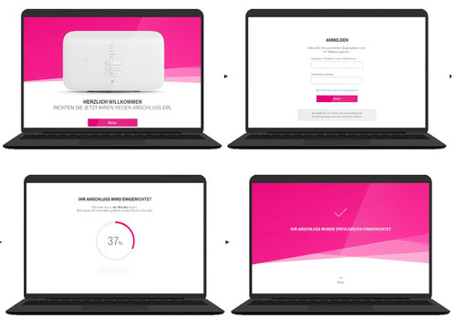 Telekom Router Assistent