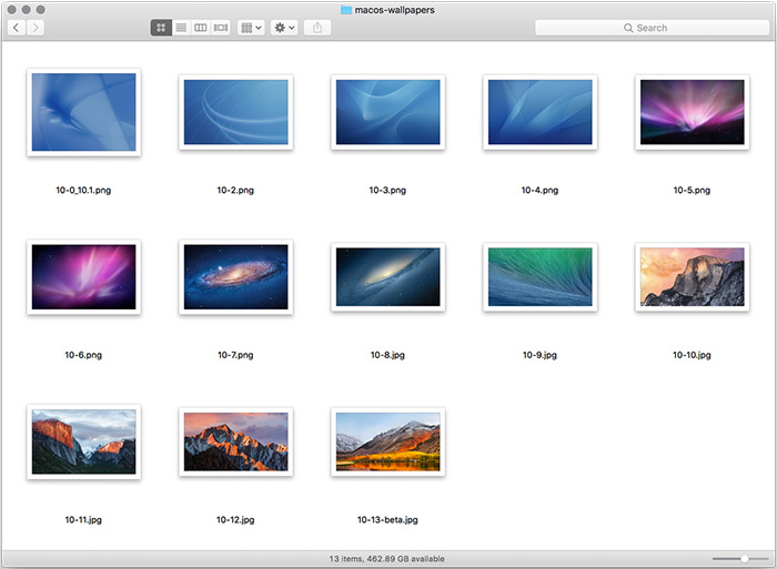 Macos Wallpapers