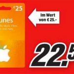 Mediamarkt Itunes Karten Rabatt