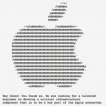 Apple Ascii Art
