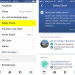 Facebook Safety Check Ios App