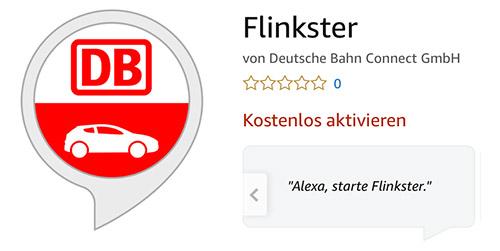 Flinkster Alexa Skill