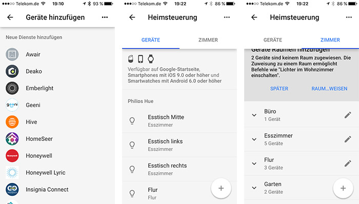 Google Home Philips Hue Einrichten