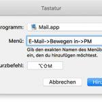 Mac Tastaturkurzbefehl Erstellen
