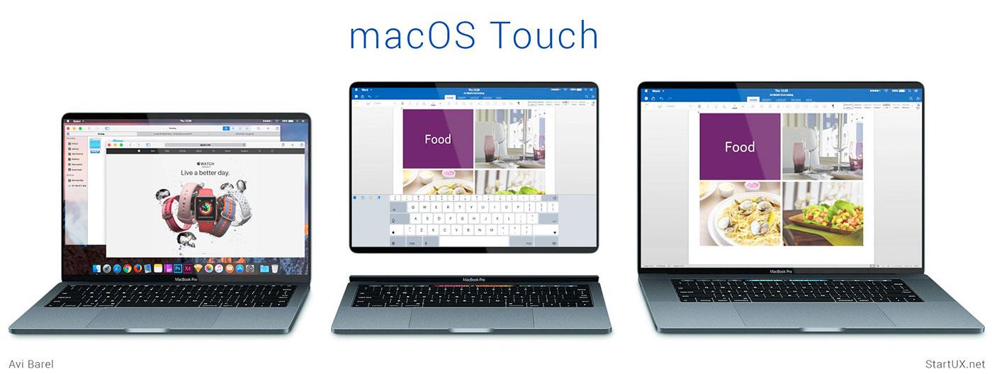 Macos Touch Modular
