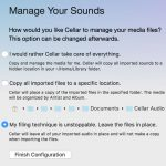 Manage Sounds