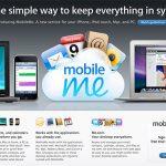 Mobileme Screenshot