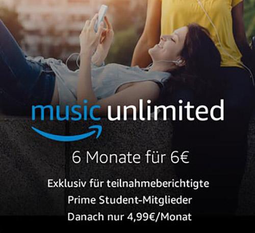 Music Unlimited Studenten
