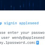 1password Feature