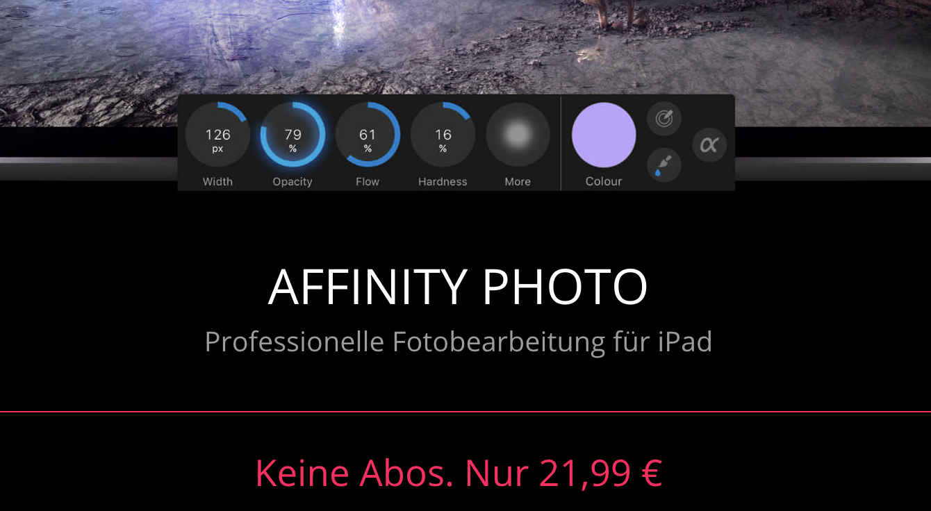affinity photo und vectornator mit neuen ios 11 funktionen. Black Bedroom Furniture Sets. Home Design Ideas